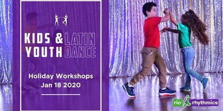 Kids & Youth Latin Dance Workshops  tickets