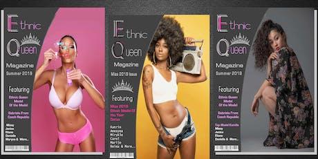 Ethnic Queen Magazine Concurso de modelado gratuito de la revista 2020 boletos