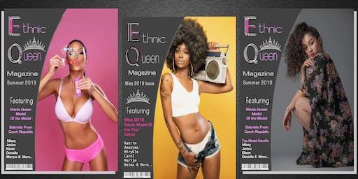 Ethnic Queen Magazine Concurso de modelado gratuito de la revista 2020