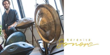 Relaxation sonore - handpan, didgeridoo, bols tibétains et gong billets