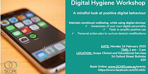 Community Workshop - Digital Hygiene