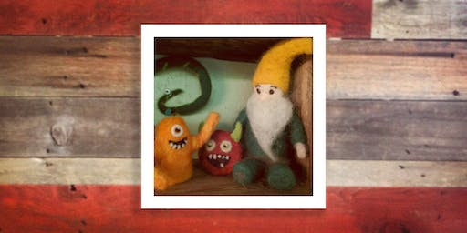 Hangin' with my Gnomies: Felted Gnomes & Ornaments (12/21)