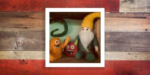 Hangin' with my Gnomies: Felted Gnomes & Ornaments (12/7)