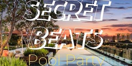 """LAZY BEATz Presents """"SECRET BEATS"""" Pool Party @BayWatch Poolside Hotel Jen tickets"""