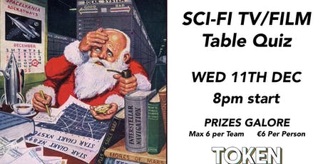 The Sci-Fi TV & Film Table Quiz tickets