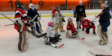 On Ice Development Session for Female Goalies-All Levels welcome tickets