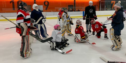 On Ice Development Session for Female Goalies-All Levels welcome