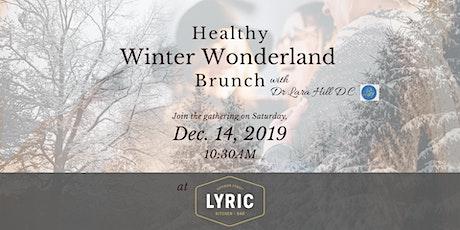 Free Healthy Winter Wonderland Brunch tickets