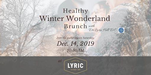 Free Healthy Winter Wonderland Brunch