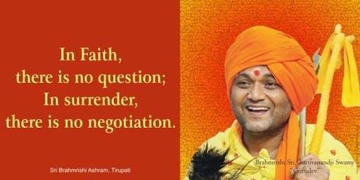 Awaken Your Soul With Brahmrishi Sri Gurudev - Bharatiya Temple