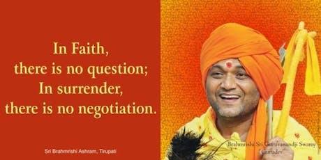 Awaken Your Soul With Brahmrishi Sri Gurudev - Sri Ram Mandir tickets