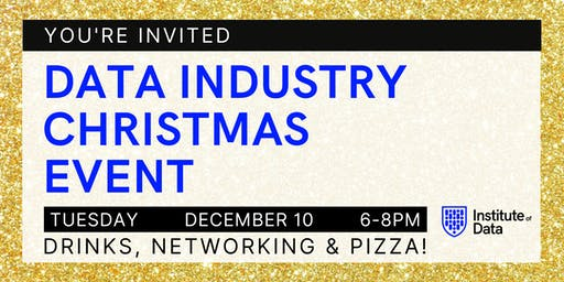 Data Industry Christmas Event 2019 - Sydney