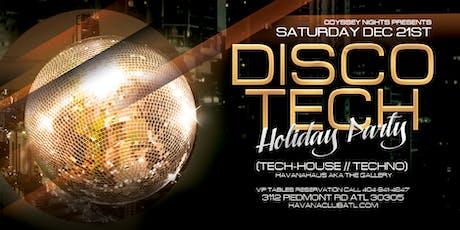 DiscoTech Holiday Party at Havana Club tickets