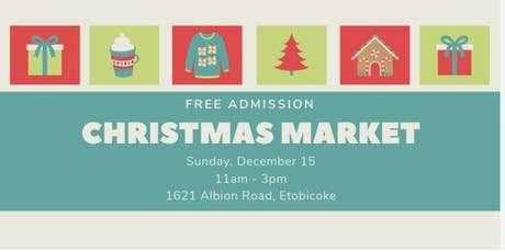 Free Admission - Christmas Market tickets
