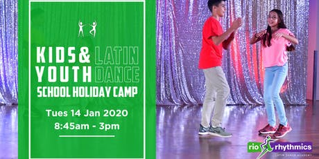 Kids Latin Dance Full-Day Holiday Program tickets