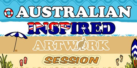 Australian Inspired Art Session - School Holiday Activity tickets