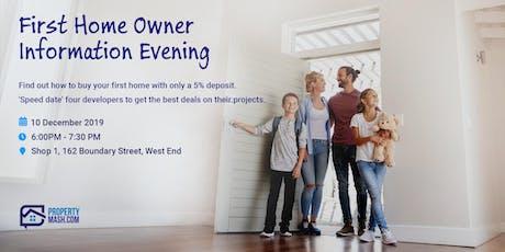 PropertyMash's First Home Buyer Information Evening tickets