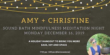 Soundbath Mindfullness & Meditation Night @ the verandaYXE tickets