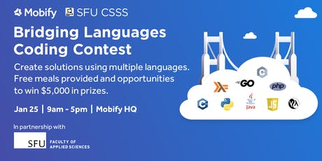 Mobify Presents: Bridging Languages Coding Contest tickets