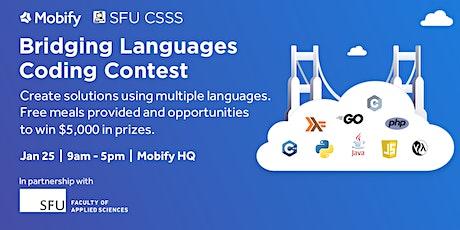 Mobify Presents: Bridging Languages Coding Contest tickets