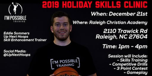 Up Next Hoops : 2019 Holiday Skills Clinic
