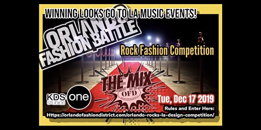Orlando Rocks LA Fashion Battle @ The Mix