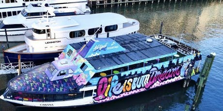 Vibes on The water winter midnight yacht party tickets