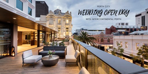 Perth City Wedding Open Day at InterContinental Perth