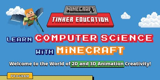 COMPUTER SCIENCE WITH MINECRAFT & SCRATCH KIDS BOOTCAMP