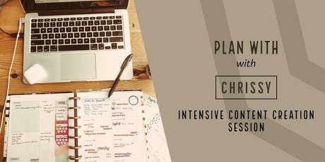 Plan with Chrissy with Content Creation tickets