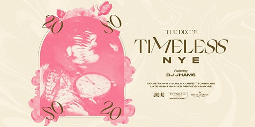 TIMELESS NYE AT TOWNHALL SOUTH SURREY