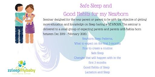Safe Sleep and Good Habits for my Newborn
