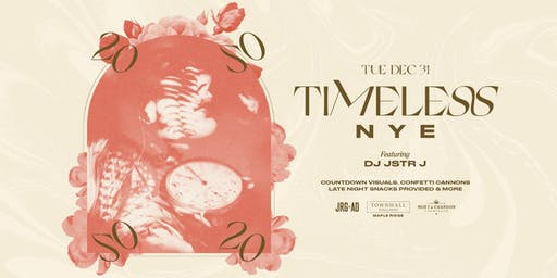 TIMELESS NYE AT TOWNHALL MAPLE RIDGE