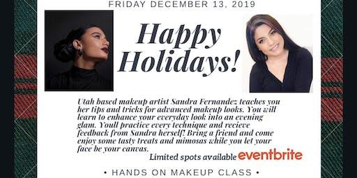 Holiday Makeup Class