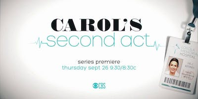 Carol's Second Act (TV Taping) *LIMITED SEATS*
