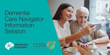 Dementia Care Navigator Information Session - SEVILLE GROVE - WA tickets