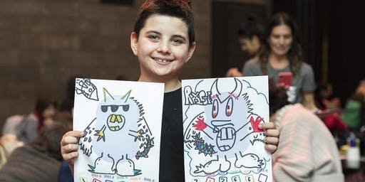 School holiday program: NGV Kids on Tour - Mystical creatures - Hastings Library