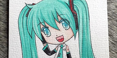 2 Days Manga Camp- for aged 9-15 tickets