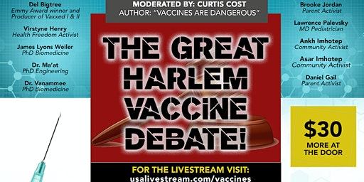 The Great Harlem Vaccine Debate: Are Vaccines Safe + Effective? Find Out!