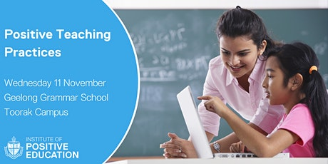 Positive Teaching Practices, Melbourne (November 2020) tickets