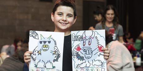 School holiday program: NGV Kids on Tour - Mystical creatures - Somerville Library tickets
