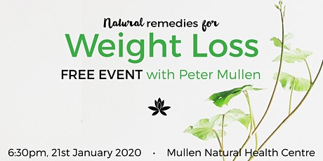 Natural Remedies for Weight Loss with Peter Mullen tickets
