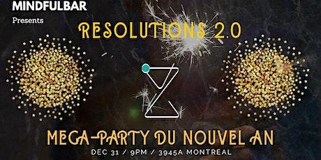 Nouvel an - Resolution 2.0 billets