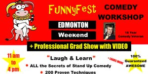 Stand Up Comedy WORKSHOP - WEEKEND COURSE - Edmonton -...