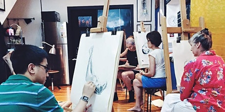 Free Spirited Life Drawing Session - Xmas Edition tickets