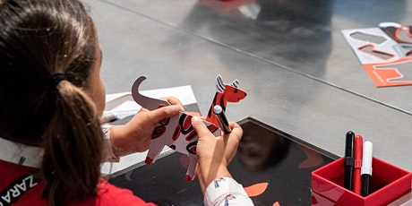 School holiday program: NGV Kids on Tour - Animal shapes - Rosebud Library tickets