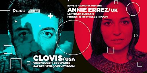 AudioTek & Buffete Pres: Annie Errez & Clovis