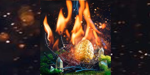 Mayor's SRC - Magical Dragon Eggs craft - Seaford Library