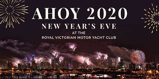AHOY 2020! Celebrate NYE On The Bay