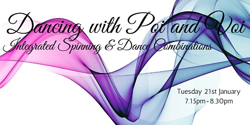 Dancing with Poi and Voi